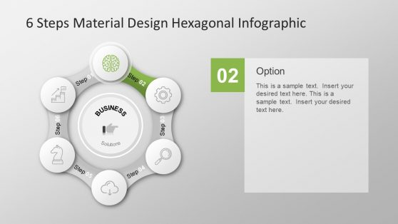 Circular Icons Hexagonal Presentation