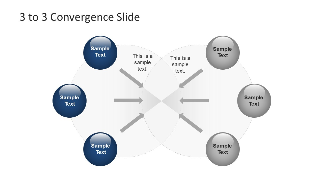 Funnel Concept Convergence Slide