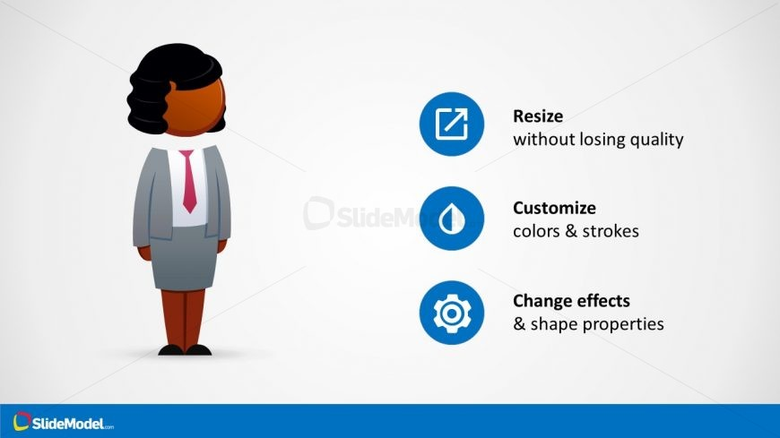 Shape of Brianna Figure in PowerPoint