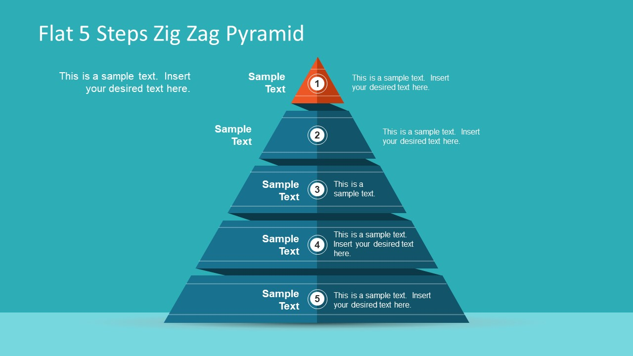 Pyramid diagram templates for powerpoint alramifo Images