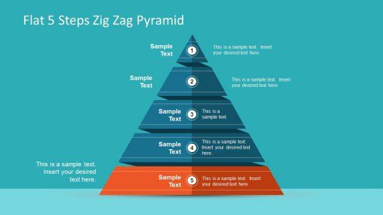 Flat Vector Pyramid PowerPoint