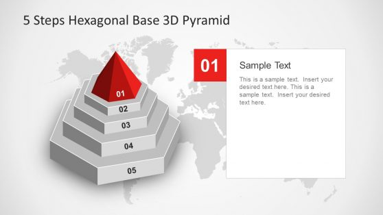 3D Pyramid PowerPoint Diagram