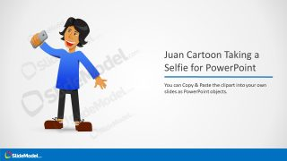 Creative PowerPoint of Selfie Illustration