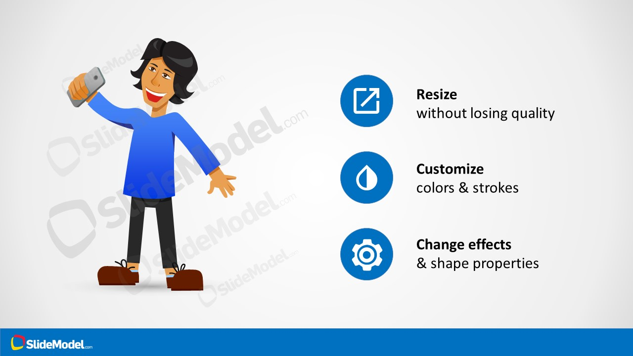 Animation Powerpoint Cartoon Presentation Slidemodel