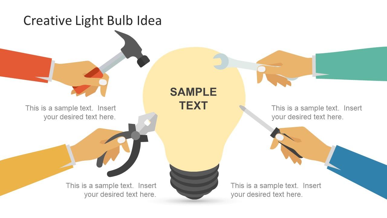 Idea Presentation of Light Bulb