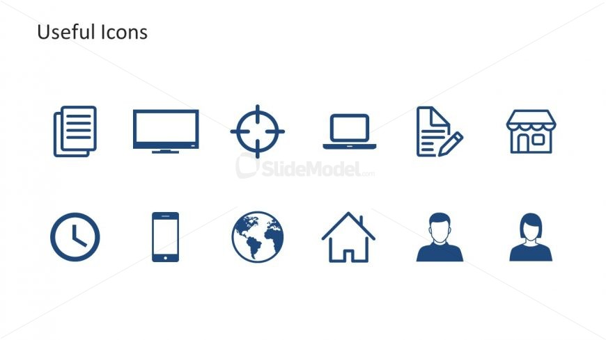 Editable PowerPoint Icons Template