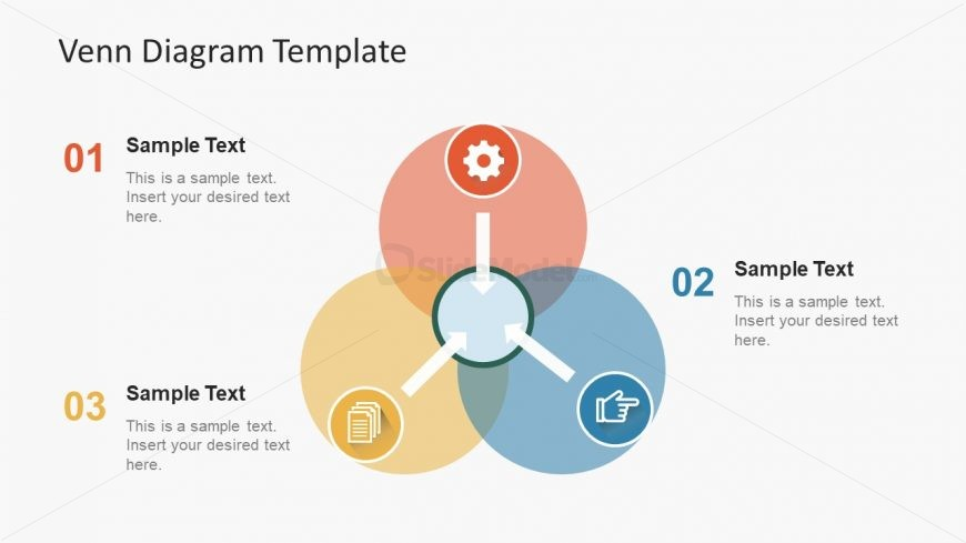 Circular venn diagram presentation slidemodel circular venn diagram presentation ccuart Images