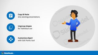 Customizable PowerPoint Template Cartoon