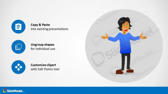Customizable Illustration Presentation of Juan
