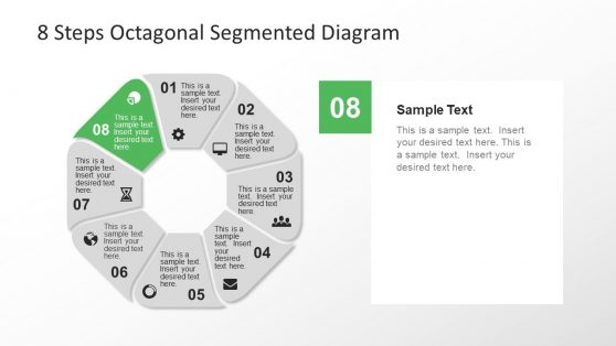 Presentation PowerPoint Octagonal Diagram