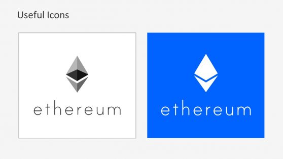 Ethereum Cryptocurrency Logo Presentation
