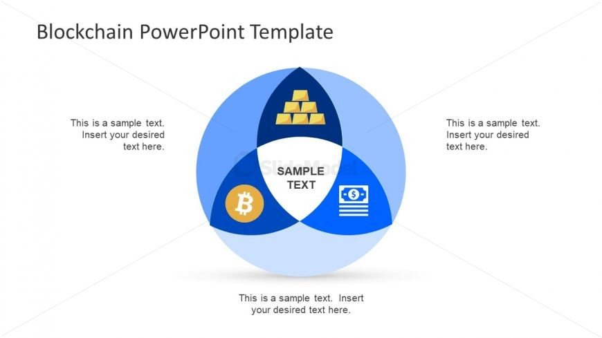 Vector Design Template of Blockchain