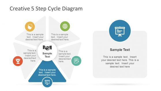 Lifecycle Circular Diagram Presentation