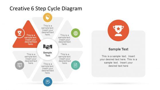 Simple Template Six Segment Circular Flow