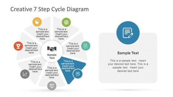 Creative PowerPoint Cycle Diagram