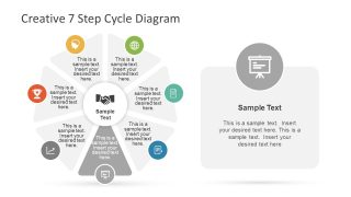 Cycle Diagram of Creative PowerPoint
