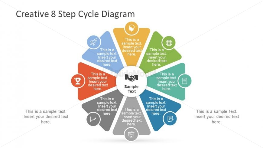 Creative Template Diagram of Infographics