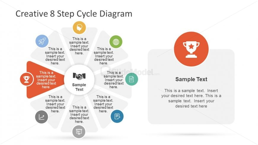 Achievement Stage of PowerPoint Diagram