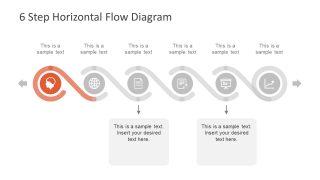 Horizontal Six Step Template Diagram