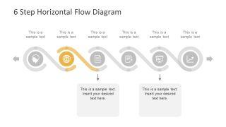 Professional Presentation Process Flow Diagram