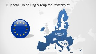 European Union Flag for PowerPoint