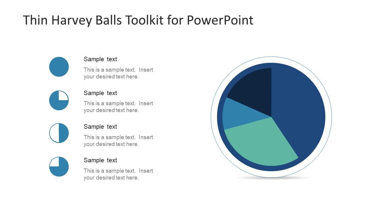 Pie Chart Template of Harvey Balls