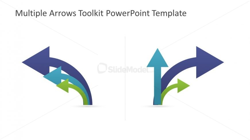 Reusable Toolkit Template of Arrows