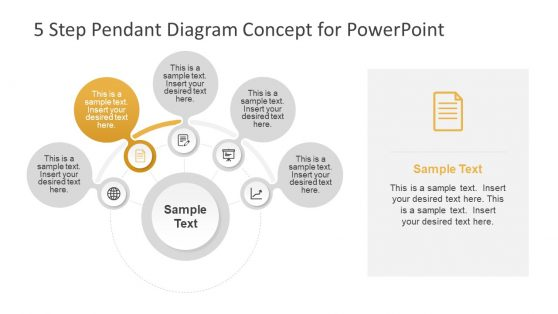 Circular Process Diagram in PowerPoint