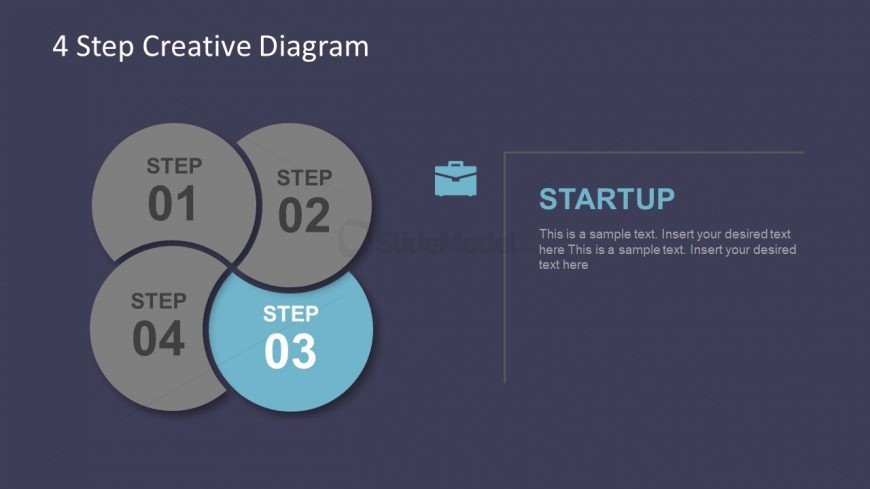 Slide of Creative Infographic Vector Template