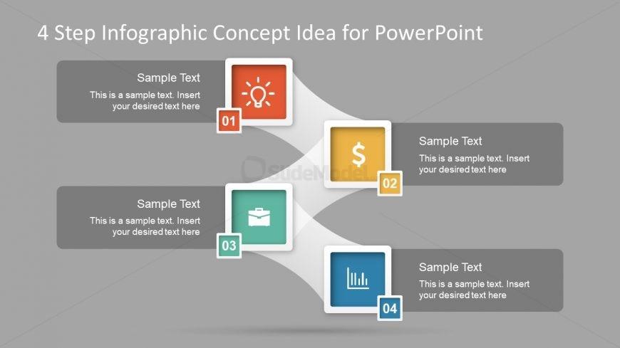 Business Model Concept Idea Slide