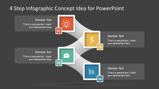 Creative Infographics Roadmap Diagram Presentation