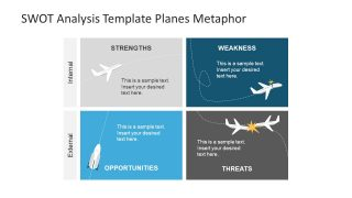 Vector Graphics of Plane Metaphor