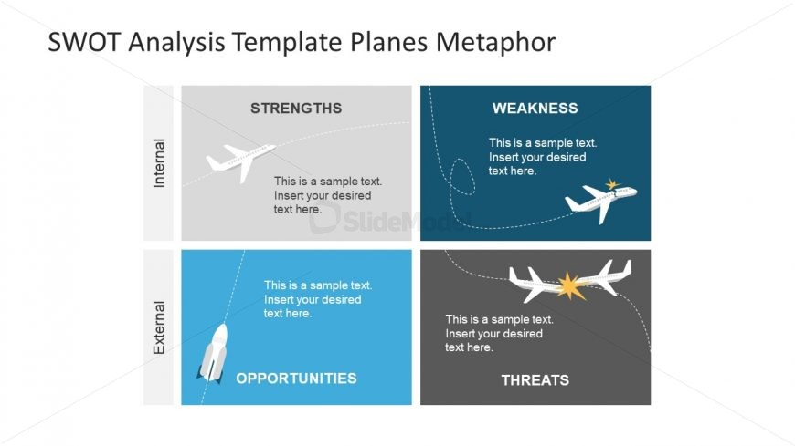 Vector Graphics of Plane Metaphor