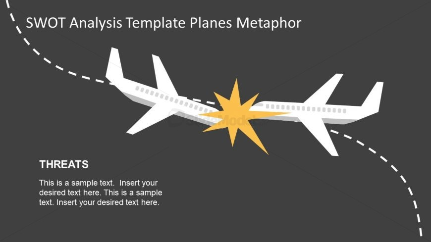 Colliding Template of Planes for Threats