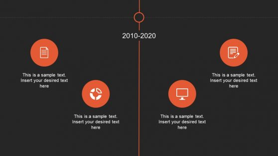 PPT Slide of Timeline with Animation