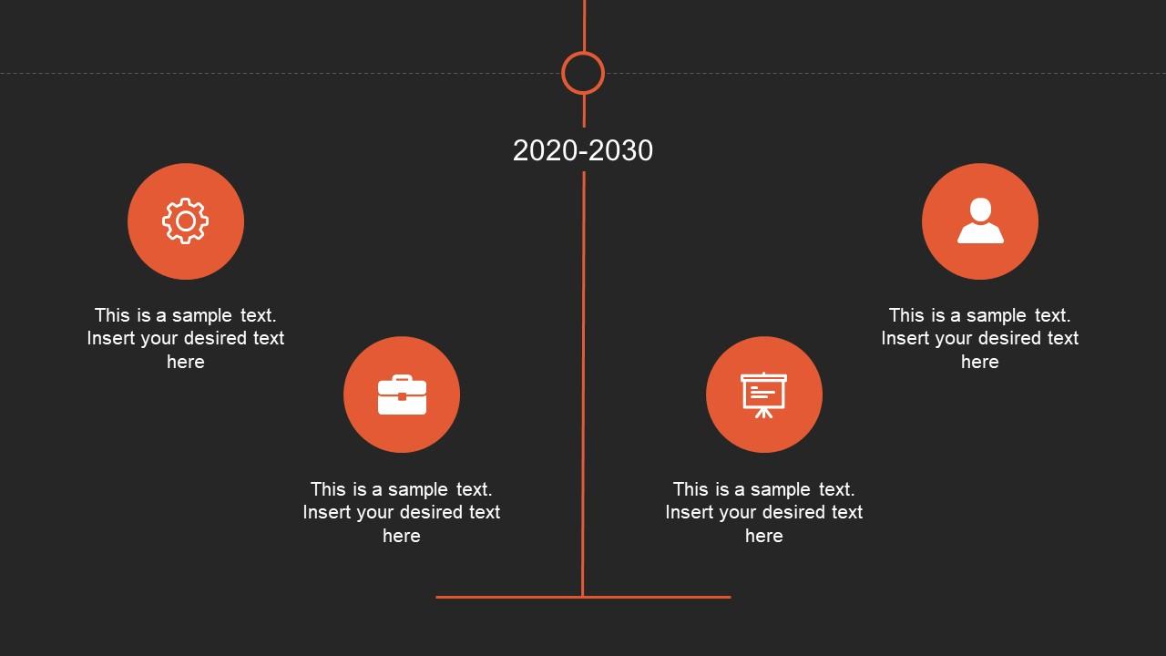 Animated vertical decades timeline templates slidemodel presentation of vertical timeline in powerpoint sample toneelgroepblik Image collections