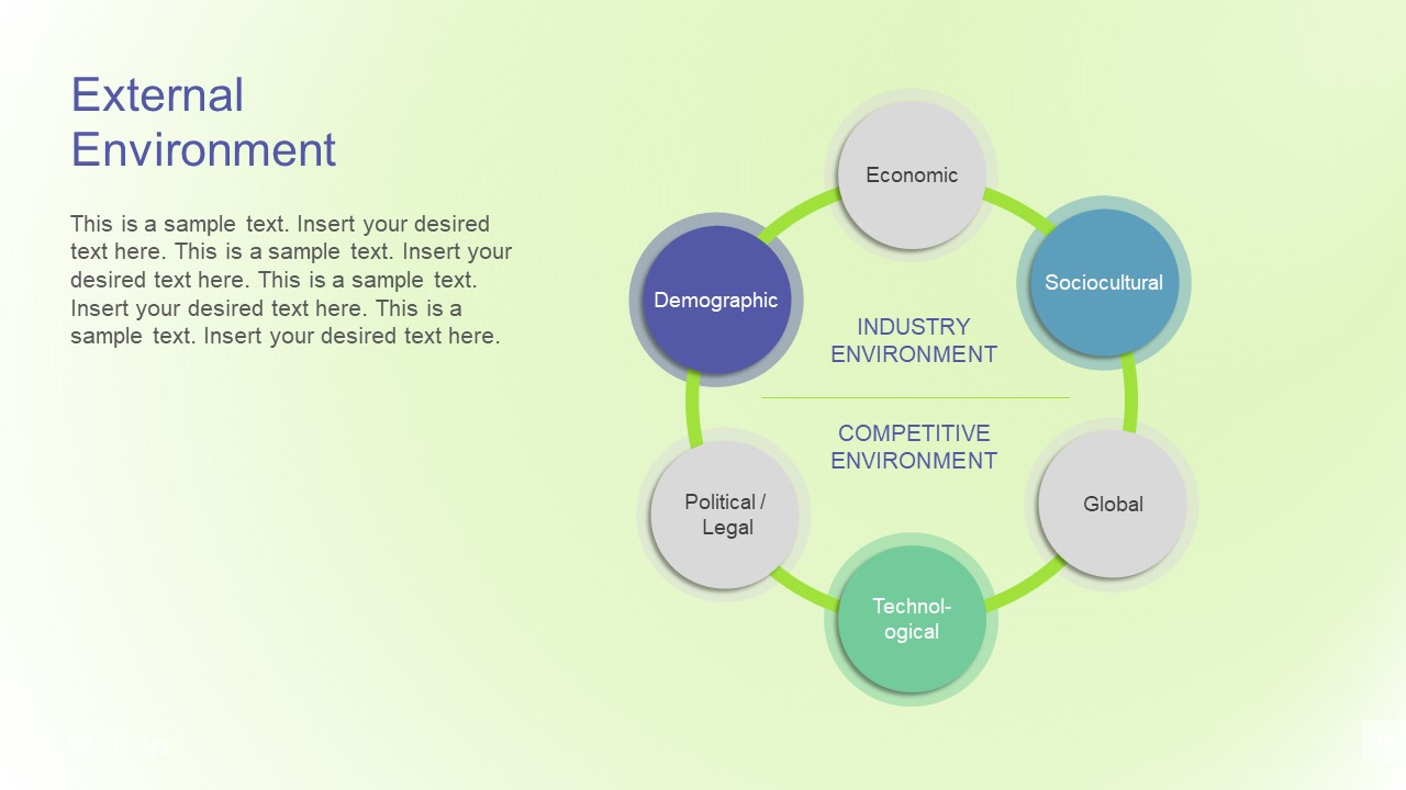 project external environment factors ppt