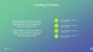 Limitation Business Planning PowerPoint