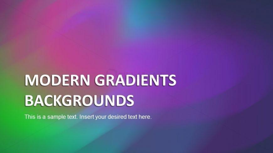 Heading Slide Gradient PowerPoint