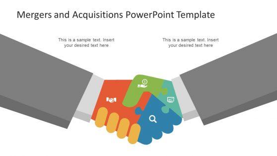 Mergers Slide 4 Step Diagram