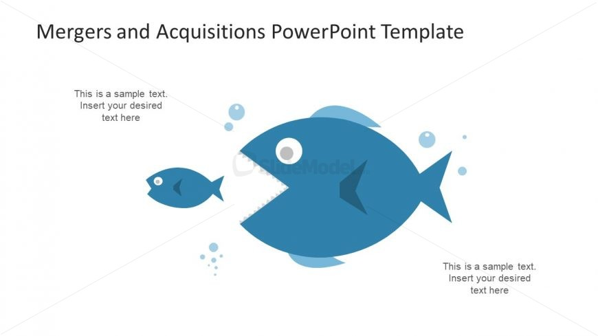 Big Fish Acquisition PowerPoint Shapes