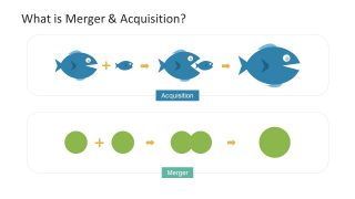 Merger Vs Acquisition PowerPoint Icons