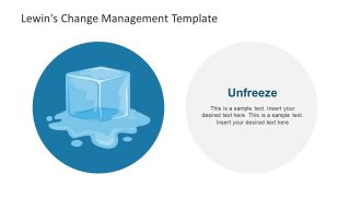 Ice Cube Unfreeze Stage Clipart