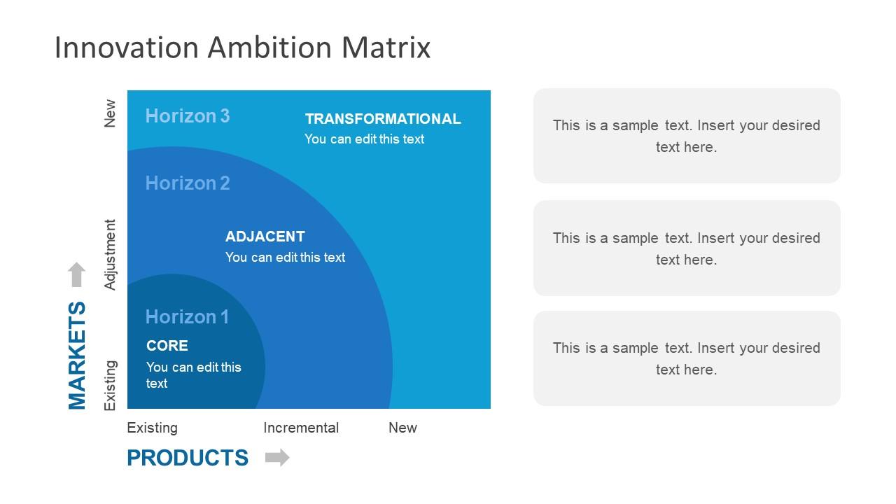 Graphic Matrix Slide Diagram