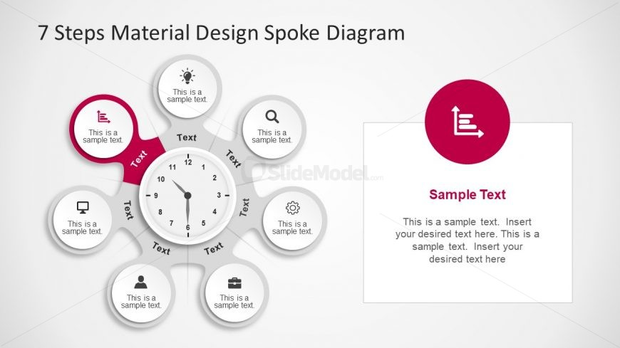 Vector Template of Material Design
