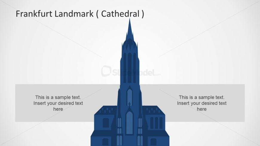 Silhouette Powerpoint Gothic Church Slidemodel