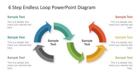 Infinity Loop Symbol Template