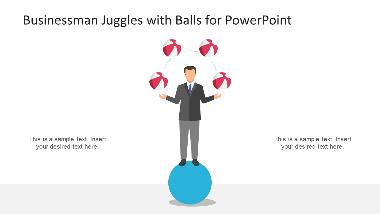 Creative Juggle Metaphor Slide