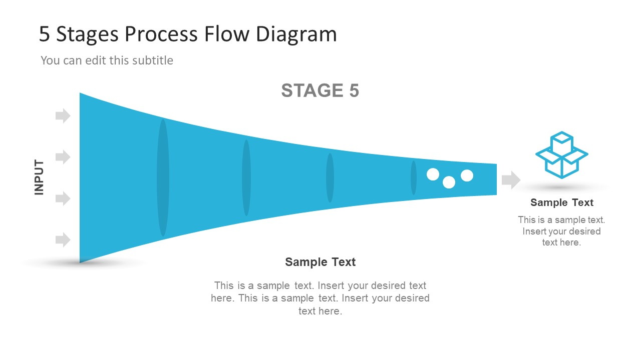 ... Useful Funnel Diagram PowerPoint Process Flow