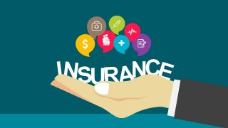 Hand Portray Insurance of Icon Elements